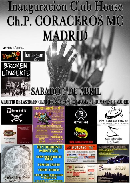 Inauguración Club House CH P CORACEROS MC MADRID (6 de Abril) 55676310