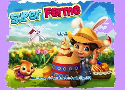 Le design et les nouveautés de Super ferme  Paques10