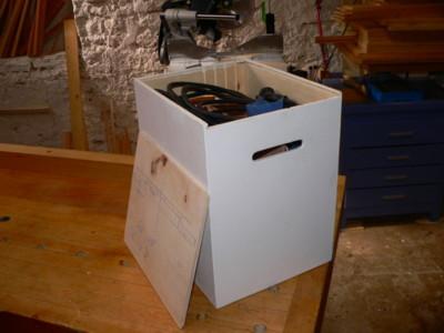 Réalisation d'un coffre à outils Def110