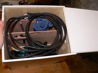 Réalisation d'un coffre à outils Def210