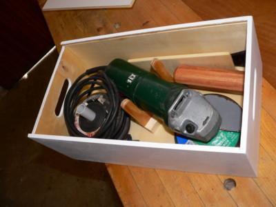 Réalisation d'un coffre à outils Meul210