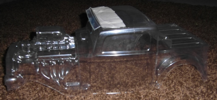 Carro pro-line hot rod 1/8 Casque13