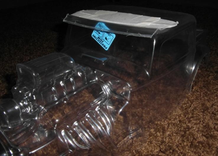 Carro pro-line hot rod 1/8 Casque14