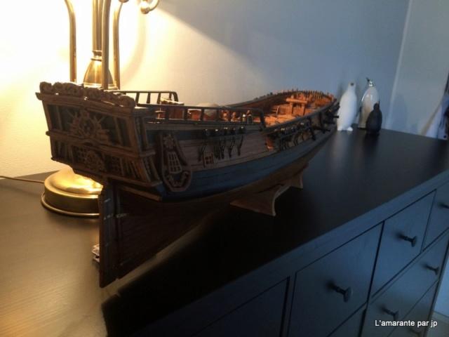 l'amarante corvette de 1747  sur plan de Mr Delacroix  - Page 16 Img_2217