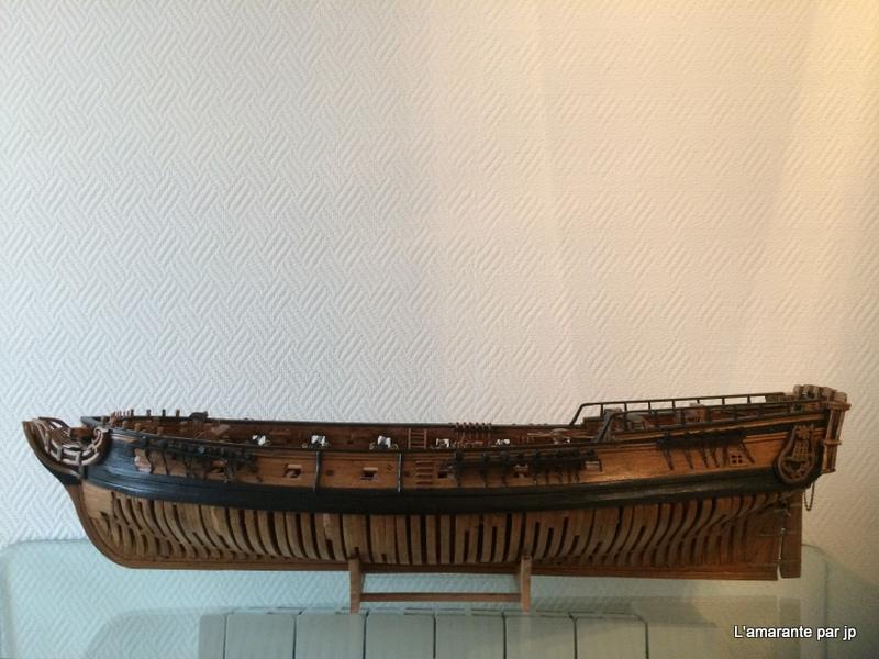 l'amarante corvette de 1747  sur plan de Mr Delacroix  - Page 18 Img_2310