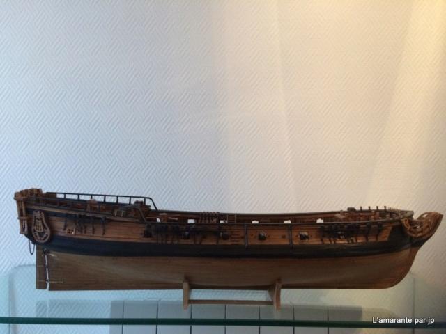 l'amarante corvette de 1747  sur plan de Mr Delacroix  - Page 18 Img_2311