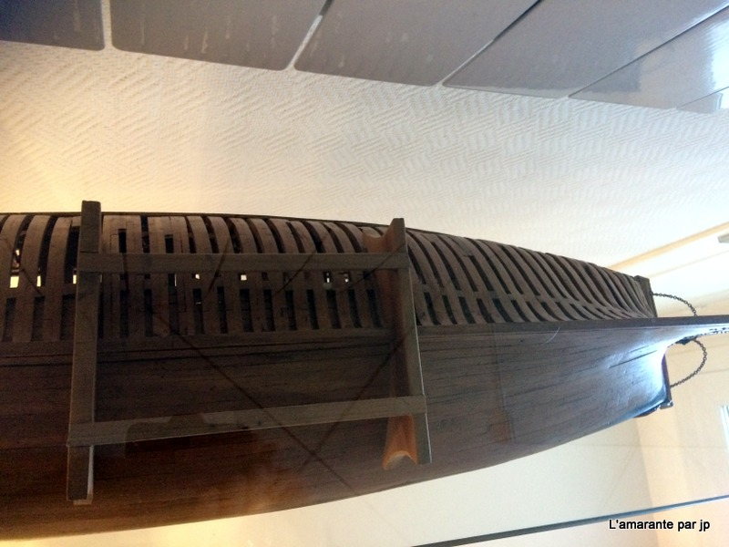l'amarante corvette de 1747  sur plan de Mr Delacroix  - Page 18 Img_2315