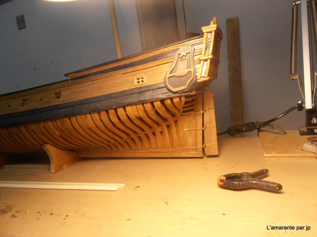 l'amarante corvette de 1747  sur plan de Mr Delacroix  - Page 13 P9150011