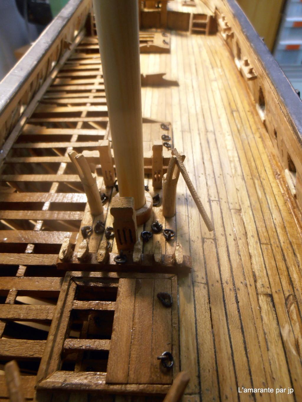 l'amarante corvette de 1747  sur plan de Mr Delacroix  - Page 16 Pb110010