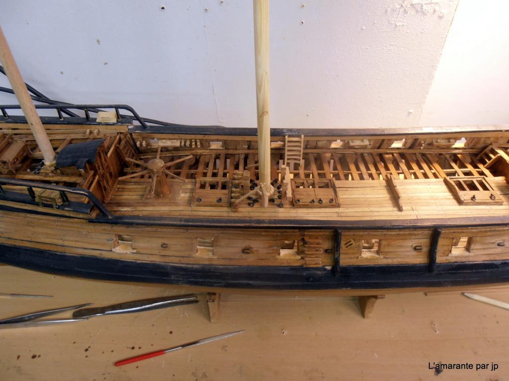 l'amarante corvette de 1747  sur plan de Mr Delacroix  - Page 16 Pb170011