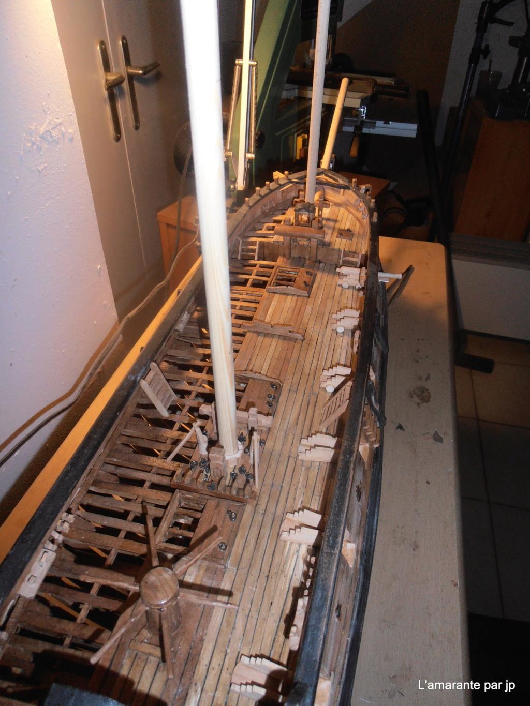 l'amarante corvette de 1747  sur plan de Mr Delacroix  - Page 16 Pb170012