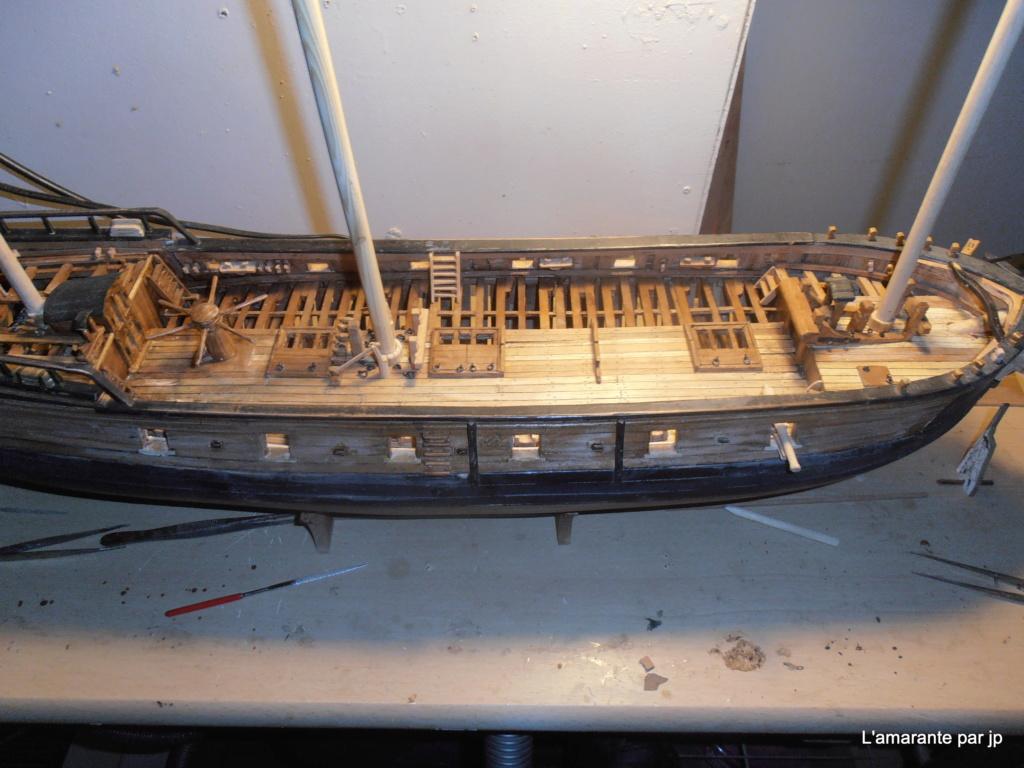 l'amarante corvette de 1747  sur plan de Mr Delacroix  - Page 16 Pb170015