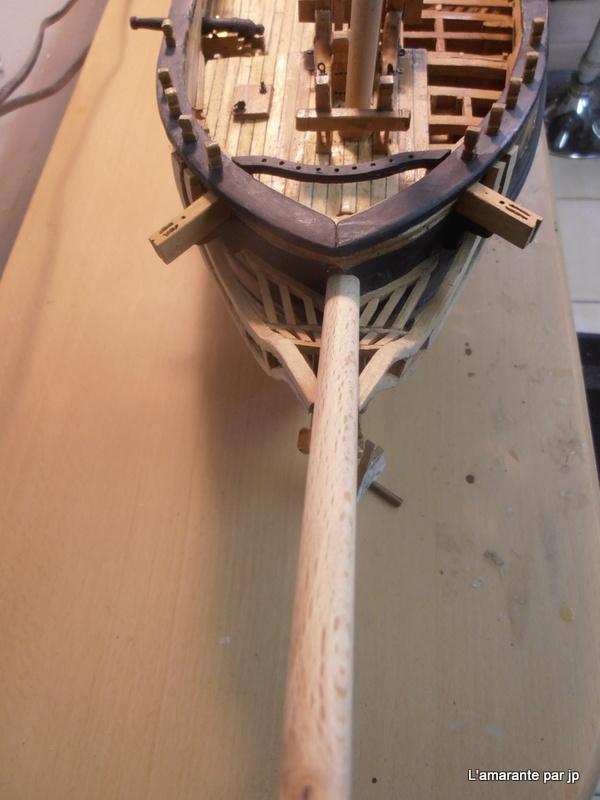 l'amarante corvette de 1747  sur plan de Mr Delacroix  - Page 16 Pc090012