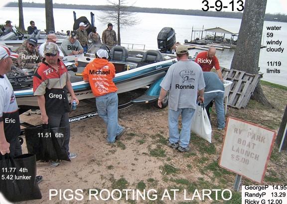 MARCH 9TH (LARTO LAKE) Foruml12