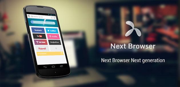 تطبيق Next Browser 10410