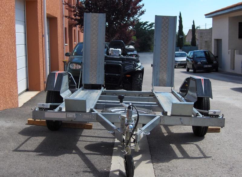 Vends remorque ERDE CH751 châssis galvanisé PTAC 499Kg spéciale QUAD 1_hpim11