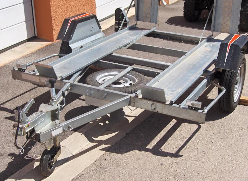 Vends remorque ERDE CH751 châssis galvanisé PTAC 499Kg spéciale QUAD Hpim0910