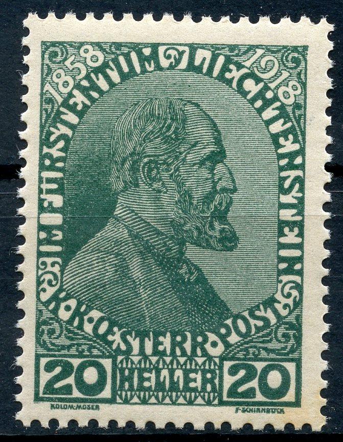 Liechtenstein - Liechtenstein ab Mi. Nr. 1  Img21610
