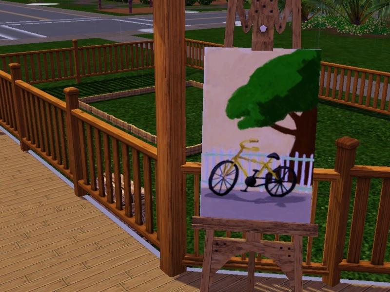 Brush Strokes - What's your Sim Painting? Bike10
