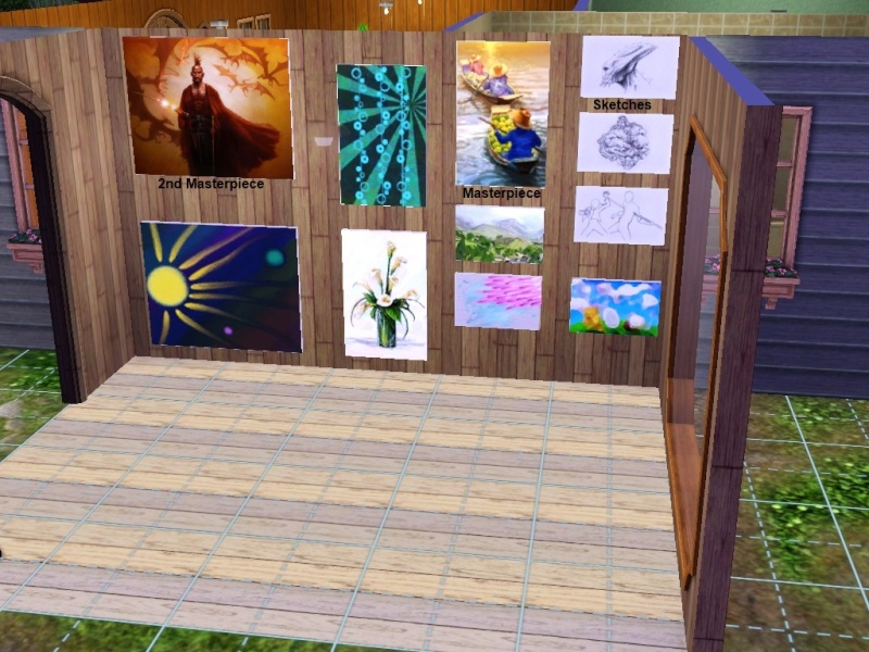 Brush Strokes - What's your Sim Painting? - Page 2 Collec11