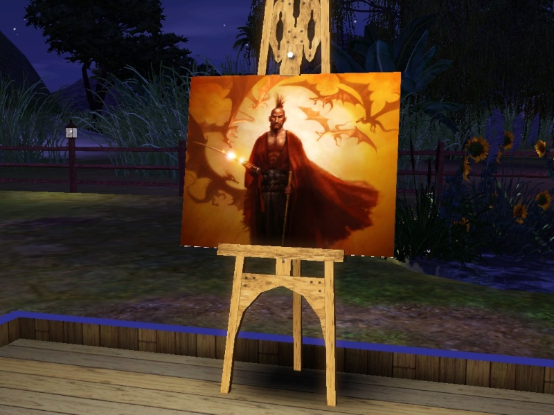 Brush Strokes - What's your Sim Painting? - Page 2 Dragon10
