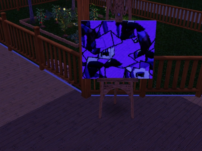 Brush Strokes - What's your Sim Painting? Insane10