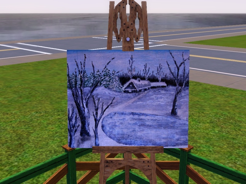 Brush Strokes - What's your Sim Painting? On_the10