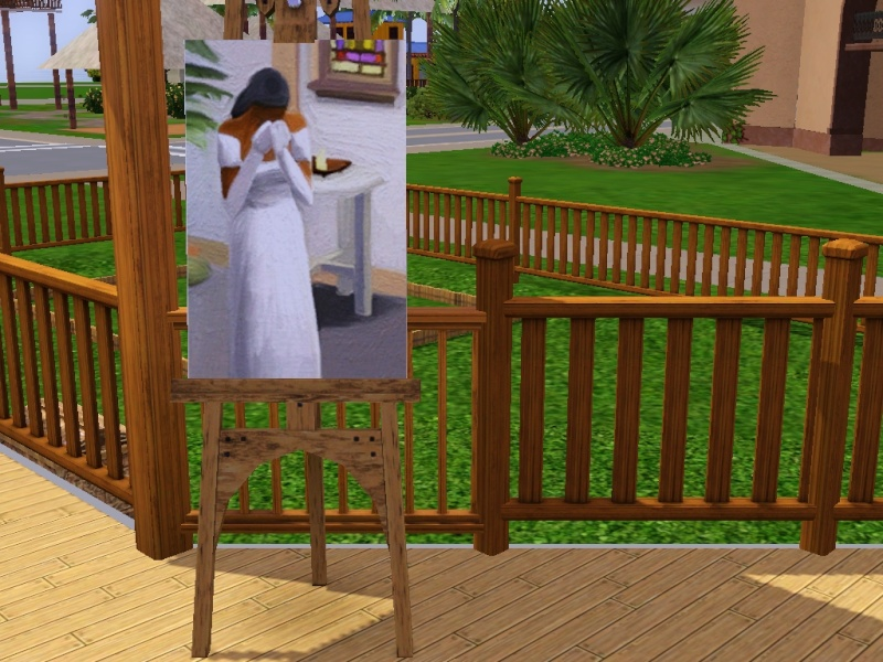 Brush Strokes - What's your Sim Painting? Weddin10