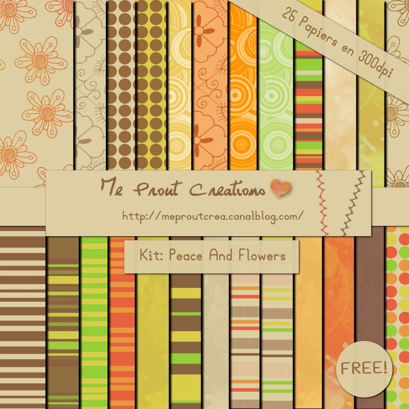 Freebies by MeProut Creation Papier10