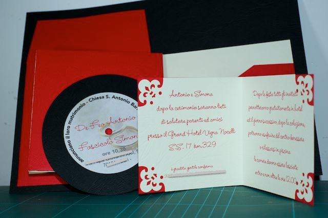 """Invito nozze """"disco"""" _dsc9645"""