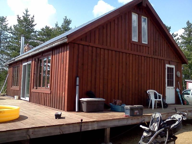 Construction de mon camp de chasse! 03510