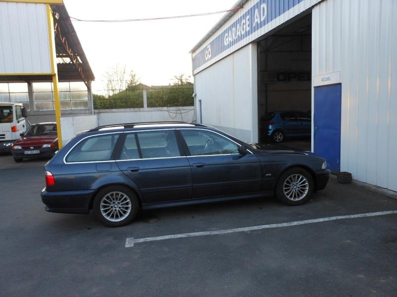 [BMW 530 d E39] Dépose des clapets d'admission Dscn1910