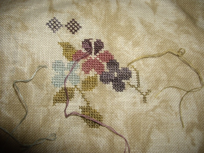 SAL Sauvage Tralala Bouquet Violettes et Myosotis - Page 5 Imgp2123