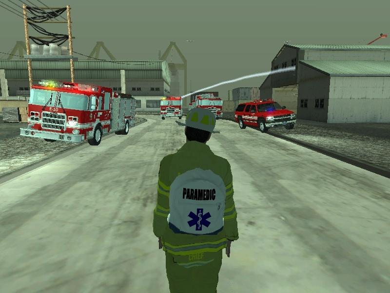 | Los Santos Fire Department | Sa-mp-12