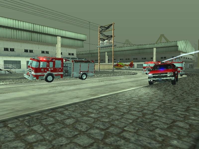 | Los Santos Fire Department | Sa-mp-13