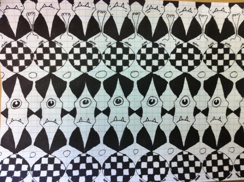Dallage à la manière de Escher (primaire et secondaire) 6_iem_10