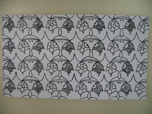 Dallage à la manière de Escher (primaire et secondaire) Img_2711