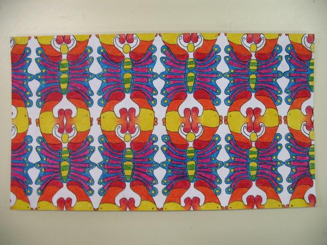 Dallage à la manière de Escher (primaire et secondaire) Img_2713
