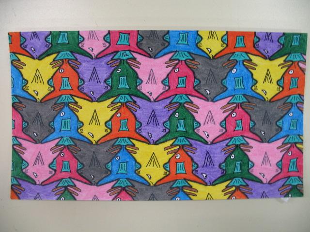 Dallage à la manière de Escher (primaire et secondaire) Img_2715