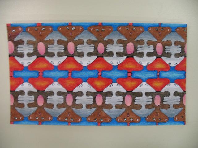 Dallage à la manière de Escher (primaire et secondaire) Img_2716