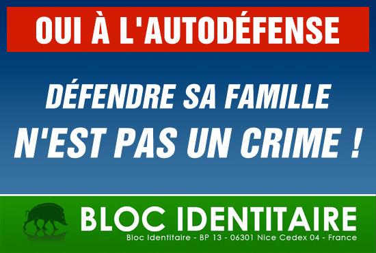 Se défendre n'est pas un crime Autode12