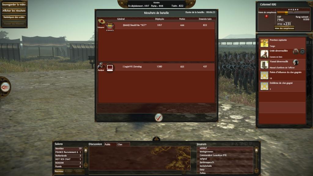 SteakFrite VS [legio VII] 2013-043