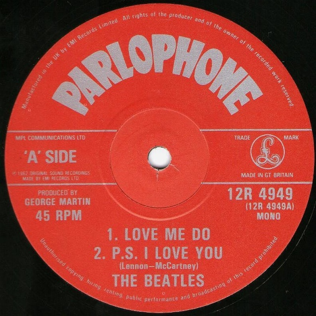 Love Me Do/P.S. I Love You Img36210
