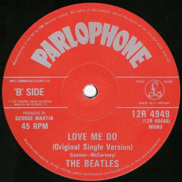 Love Me Do/P.S. I Love You Img36310