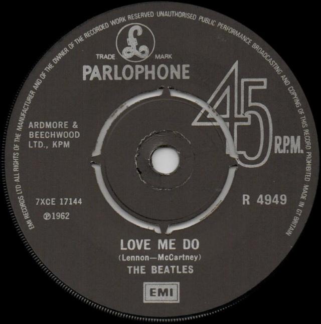 Love Me Do/P.S. I Love You R4949-12
