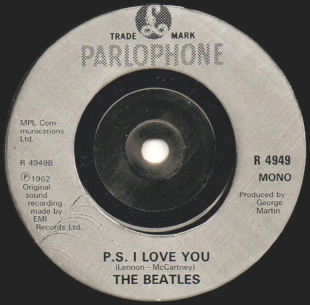 Love Me Do/P.S. I Love You R4949-21