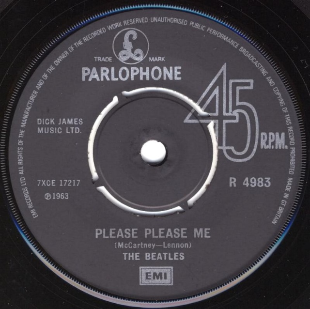 Please Please Me/Ask Me Why R4983-13