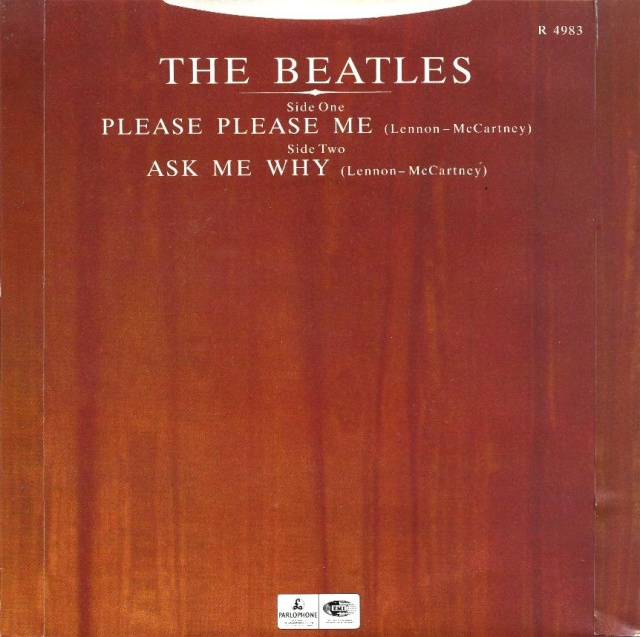 Please Please Me/Ask Me Why R4983-16