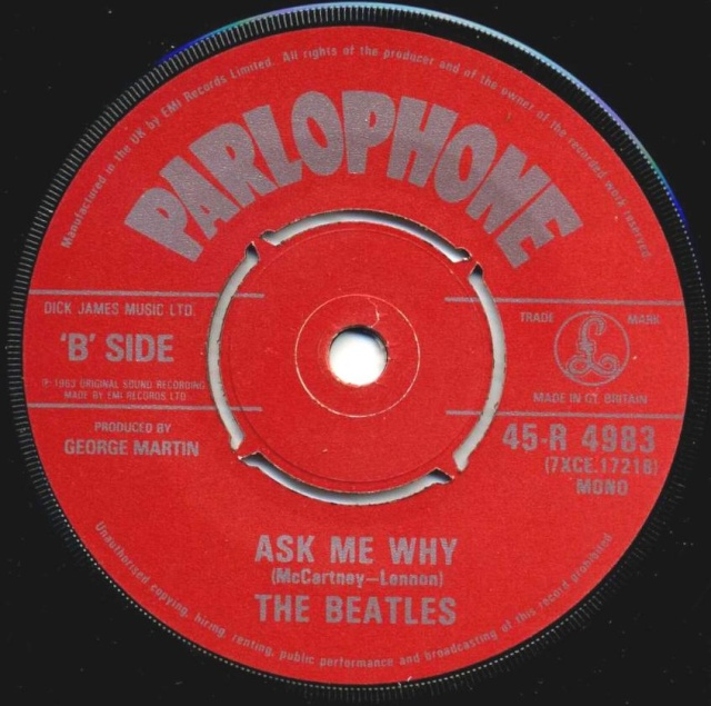Please Please Me/Ask Me Why R4983-18