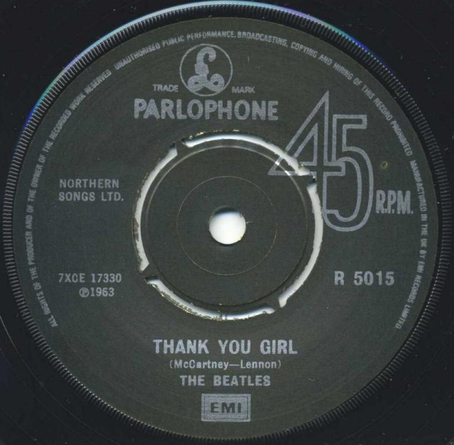 From Me To You/Thank You Girl R5015-18